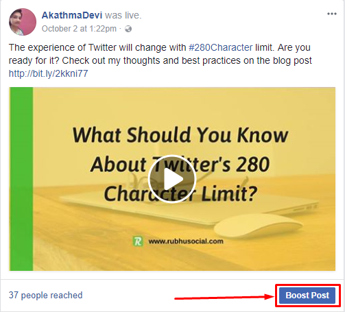 How is boost post different from creating an ad on